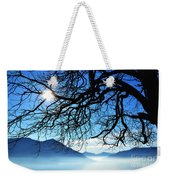 Tree Branches And Sun Weekender Tote Bag