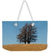 Tree Formation On A Hill Of Veldt Weekender Tote Bag