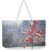 Tree In The Winter Weekender Tote Bag