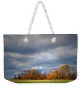 Tree Line On Sunset Hill In New Hampshire Weekender Tote Bag