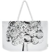 Tree Of Industrial Weekender Tote Bag by Setsiri Silapasuwanchai