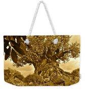 Tree Of Life In Sepia Weekender Tote Bag