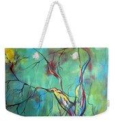 Tree Of Winding Color Weekender Tote Bag