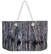 Tree Reflection Abstract Weekender Tote Bag
