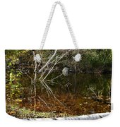 Tree Reflections Stoney Creek Weekender Tote Bag