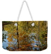 Tree River Reflections Weekender Tote Bag