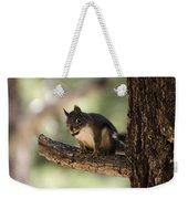 Tree Squirrel Weekender Tote Bag