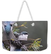 Tree Swallow - Standing Guard Weekender Tote Bag