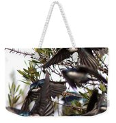 Tree Swallow - All Swallowed Up Weekender Tote Bag