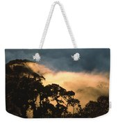 Trees And Mountaintops Above The Clouds Weekender Tote Bag
