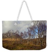 Trees Below Stob Dearg Weekender Tote Bag by Gary Eason