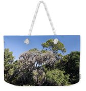 Trees Decorated With Moss Weekender Tote Bag