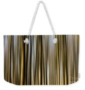 Trees In A Forest Blurred Weekender Tote Bag