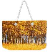 Trees In Autumn Weekender Tote Bag
