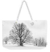 Trees In Winter Weekender Tote Bag