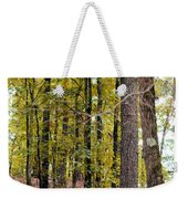 Trees Of Golden Hues Weekender Tote Bag