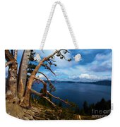 Trees On The Crater Weekender Tote Bag