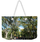 Trees On The Mall In Central Park Weekender Tote Bag
