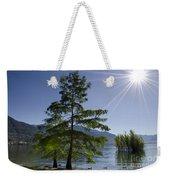 Trees With Sunbeam Weekender Tote Bag