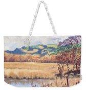Cors Caron Nature Reserve Tregaron Painting Weekender Tote Bag
