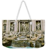 Trevi Fountain Weekender Tote Bag