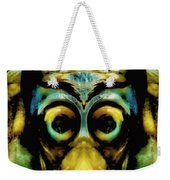 Tribal Mask Weekender Tote Bag