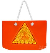 Triceratium Weekender Tote Bag by M. I. Walker