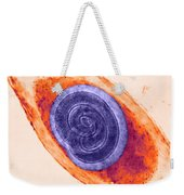 Trichinella In Muscle Lm Weekender Tote Bag