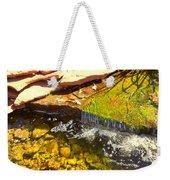 Trickle Waterfall Weekender Tote Bag