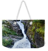 Tricky Falls Weekender Tote Bag by Marty Koch