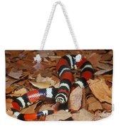 Tricolor Hognose Snake Weekender Tote Bag
