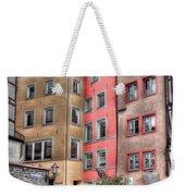 Tricolor Houses Weekender Tote Bag
