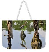 Tricolored Reflection Weekender Tote Bag