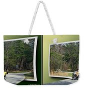 Trike Wave - Gently Cross Your Eyes And Focus On The Middle Image Weekender Tote Bag
