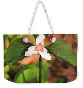 Trillium Wildflower Weekender Tote Bag