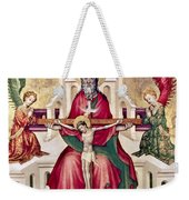 Trinity And Christ Weekender Tote Bag
