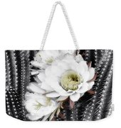 Triple Torch Cactus Weekender Tote Bag