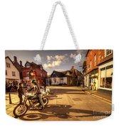 Triumph In Much Wenlock  Weekender Tote Bag