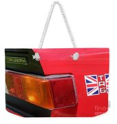 Triumph Tr6 Tail Light Weekender Tote Bag