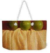 Trois Pommes Weekender Tote Bag