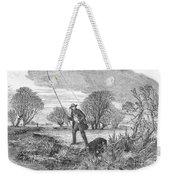 Trolling For Jack, 1850 Weekender Tote Bag