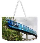 Tron A Rail Weekender Tote Bag by David Lee Thompson