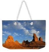 Trona Pinnacles Golden Hour Weekender Tote Bag