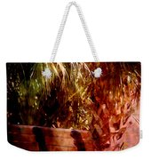 Tropical Bench Weekender Tote Bag