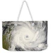 Tropical Cyclone Ivan Over Madagascar Weekender Tote Bag