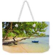 Tropical Island Scenery Weekender Tote Bag