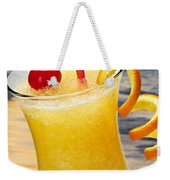 Tropical Orange Drink Weekender Tote Bag