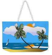 Tropical Outlook Weekender Tote Bag