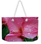 Tropical Rose Weekender Tote Bag by Susan Herber