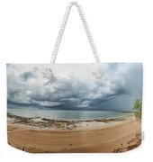 Tropical Seasonal Monsoon Rain Weekender Tote Bag